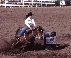 Red Lodge Rodeo Barrel Racing